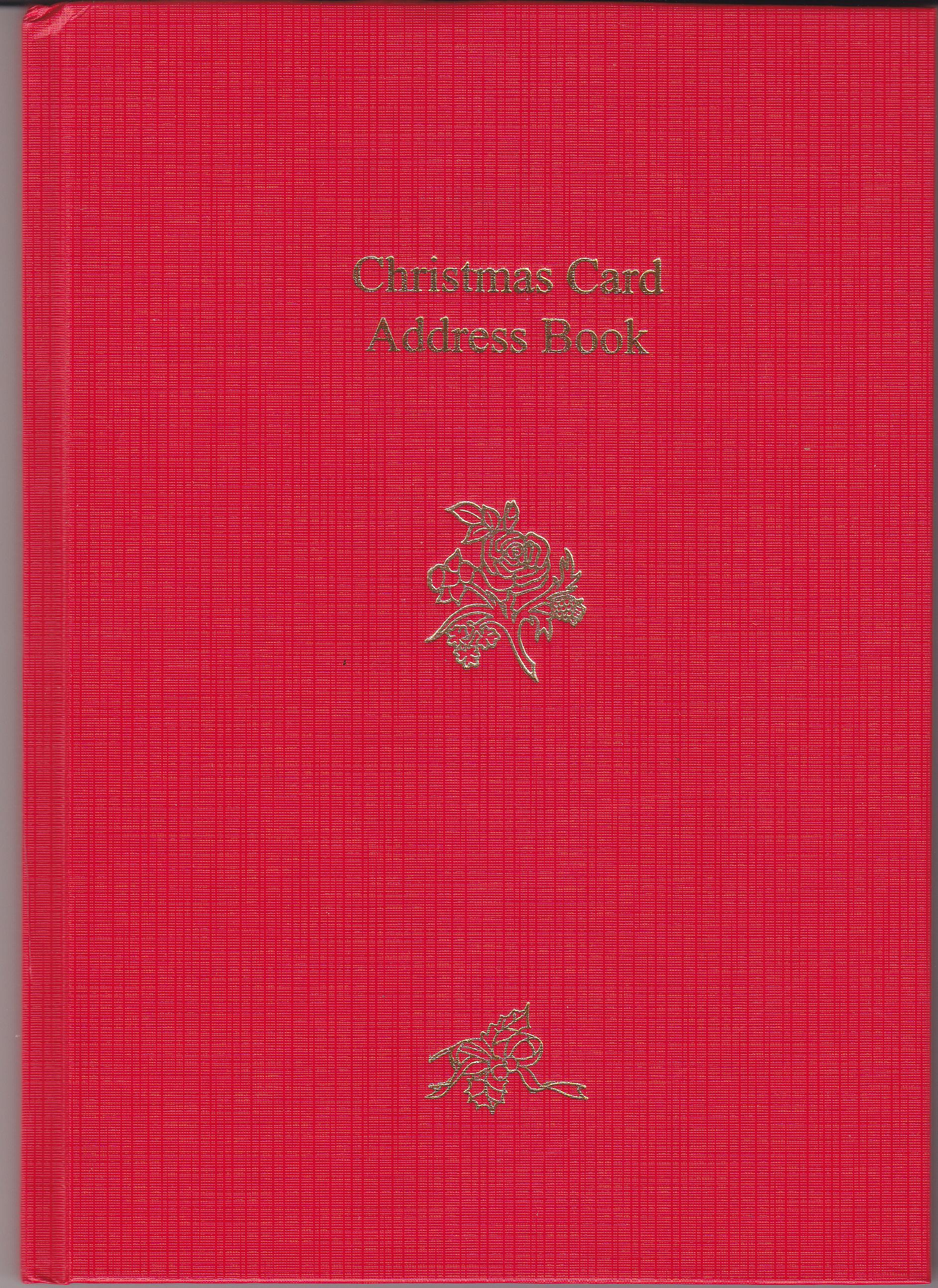 ADDRESS002-Xmas-Address-Red